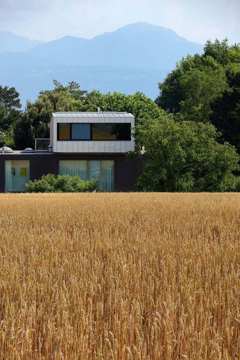 Villa Sabbatini, St.-Sulpice Zwitserland - Lacroix Chessex Architectes