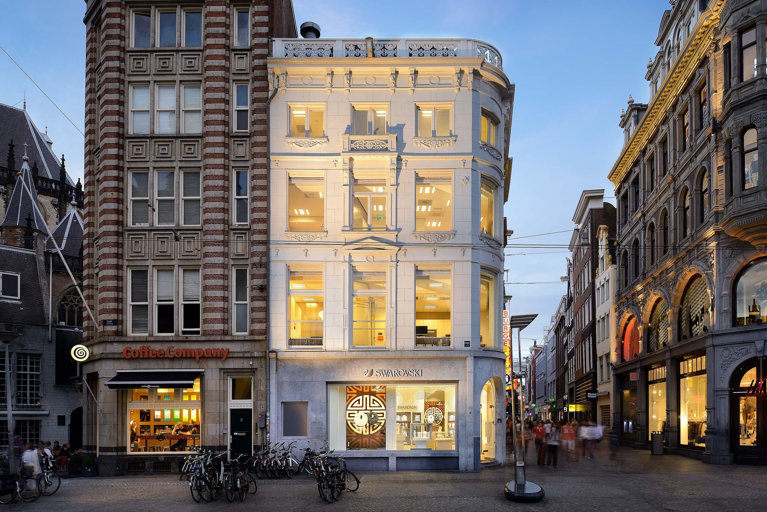 Architectuurfotograaf Amsterdam - Chiel de Nooyer, Swarovski Dam Store