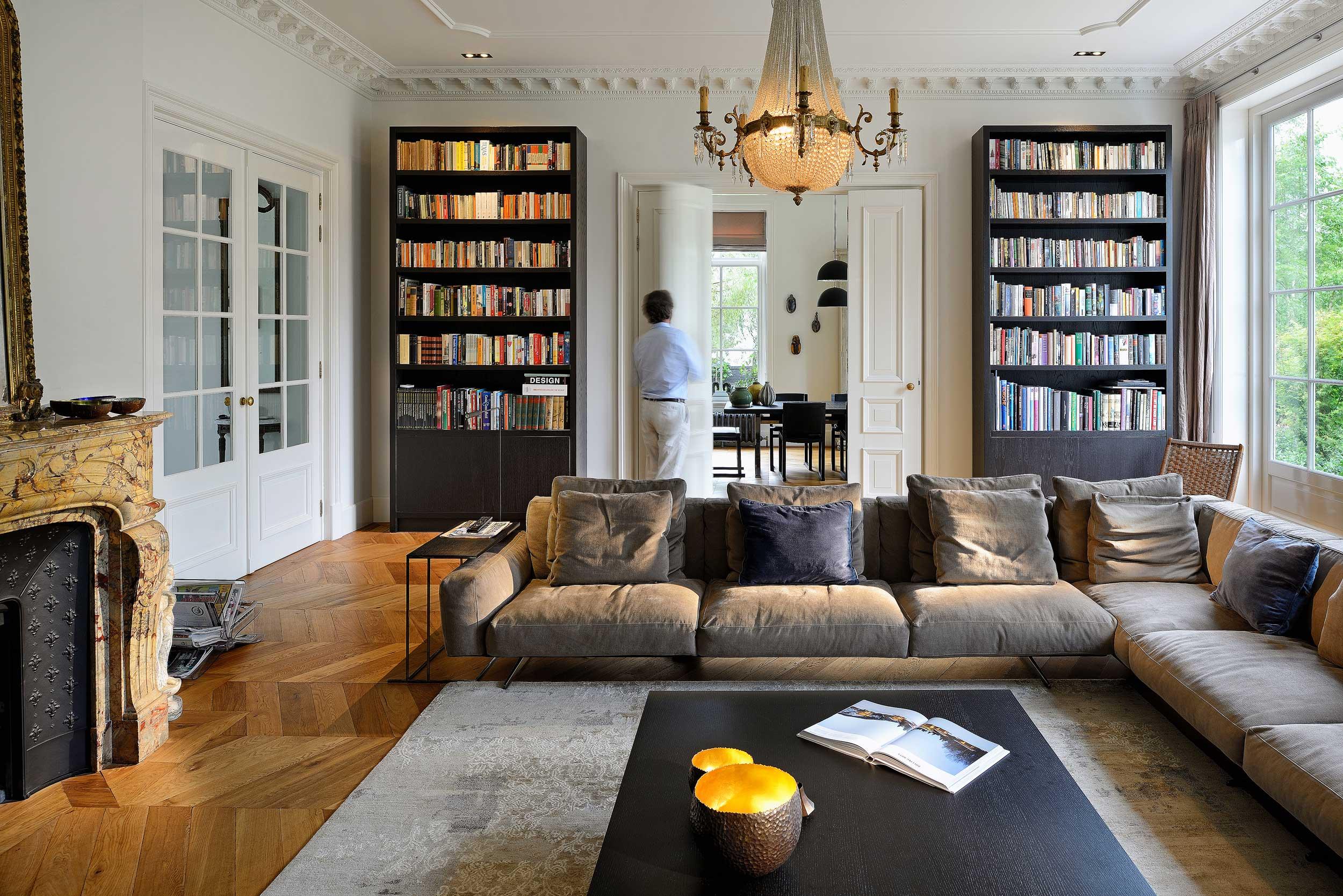Interieur villa Amstelveen. Fotografie door interieurfotograaf Chiel de Nooyer