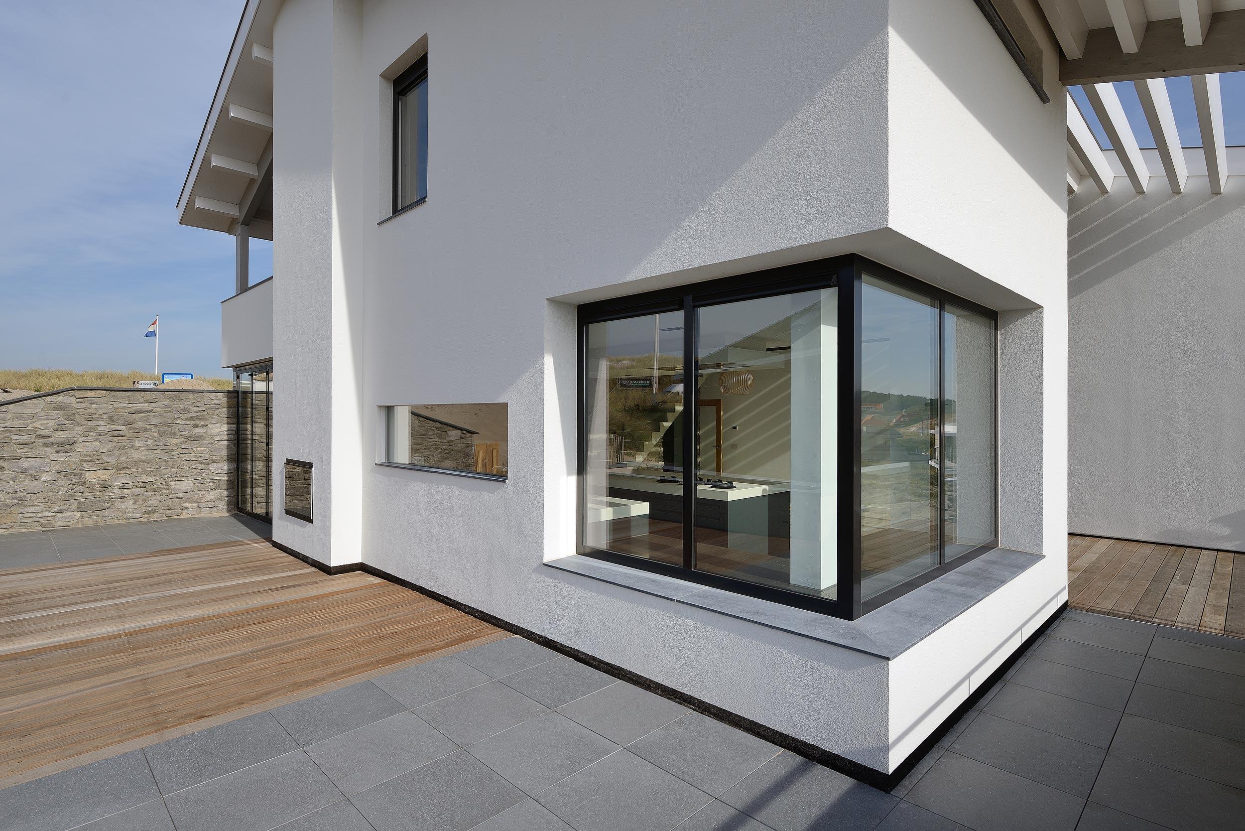 Villa Bergen aan Zee - fotograaf architectuur Chiel de Nooyer