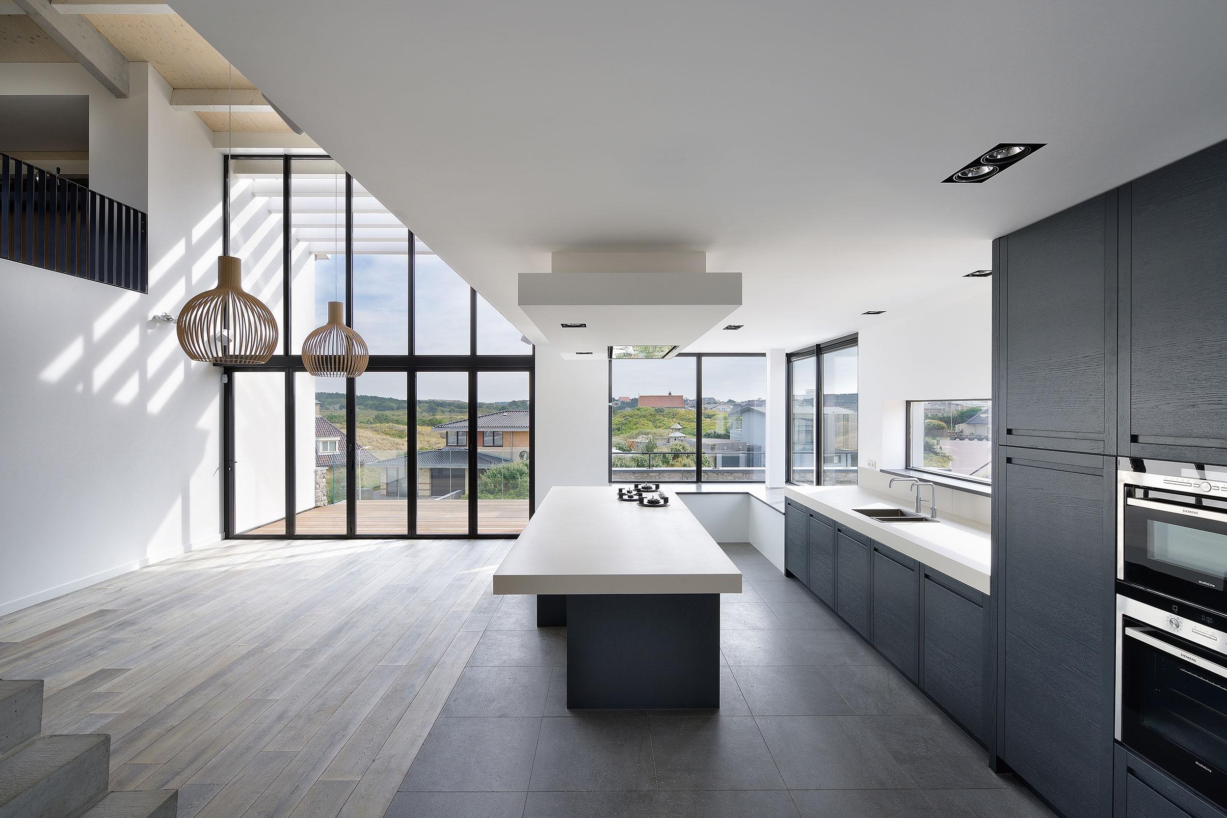 Villa Bergen aan Zee - interieurfotograaf Chiel de Nooyer