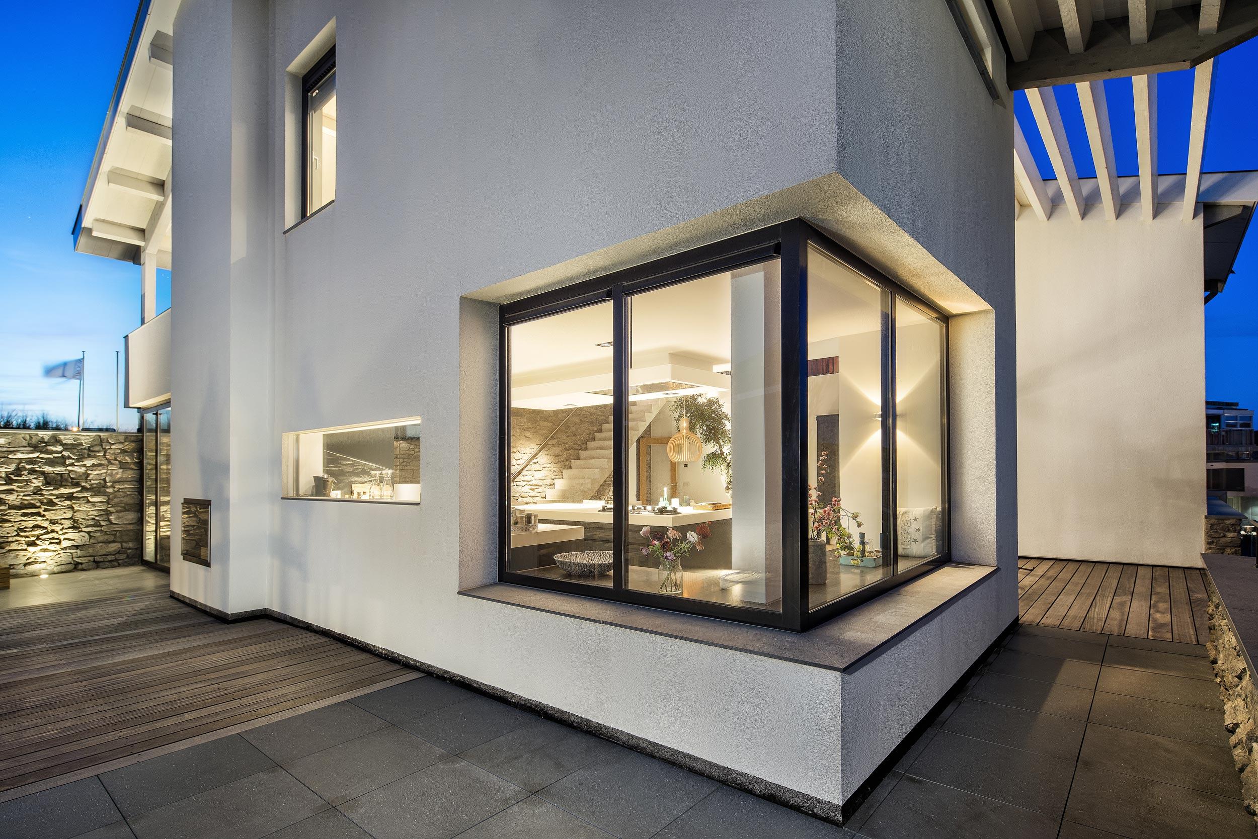 Villa Bergen aan Zee - architectuurfotograaf Chiel de Nooyer
