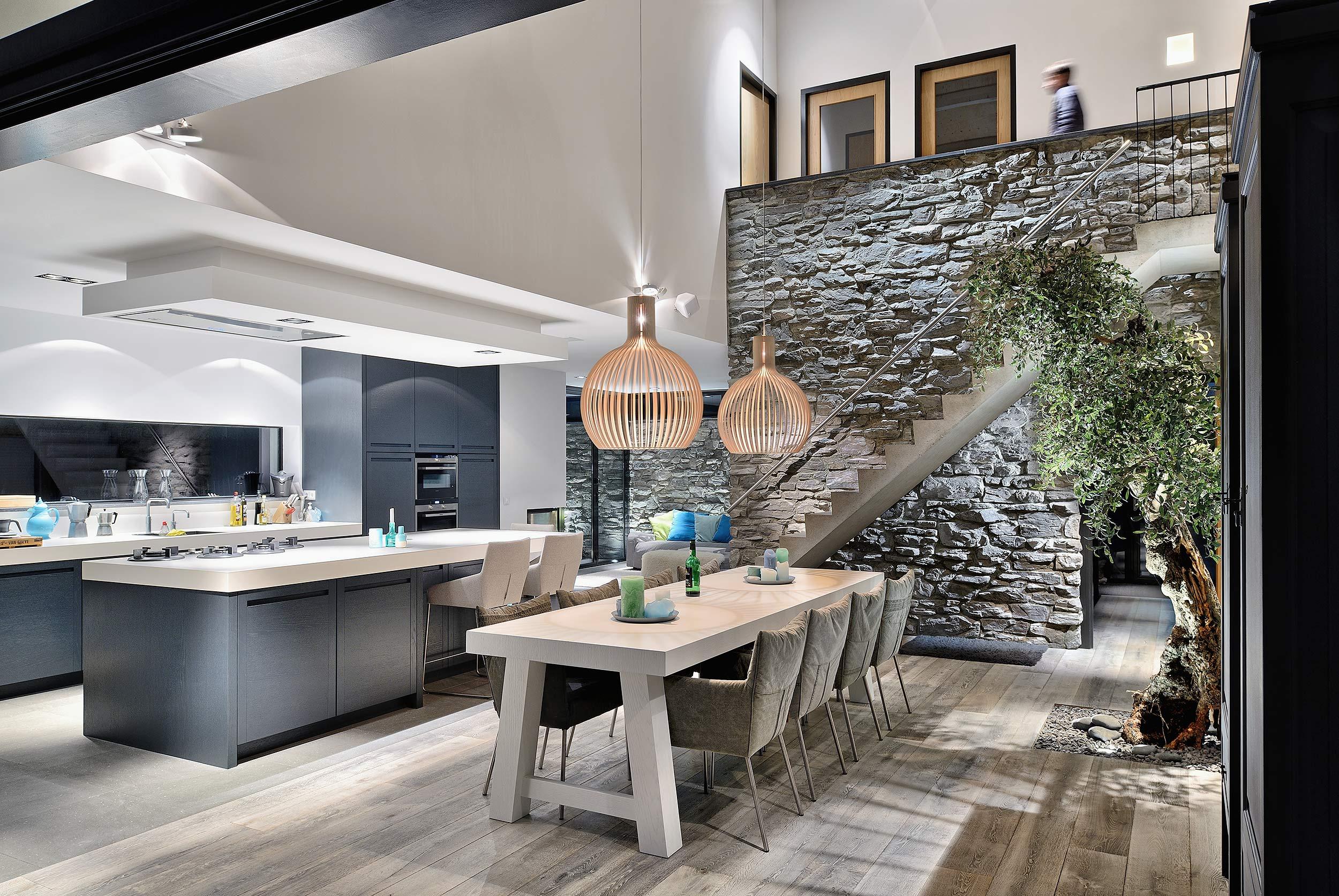 Villa Bergen aan Zee - architectuur en interieur fotograaf Chiel de Nooyer