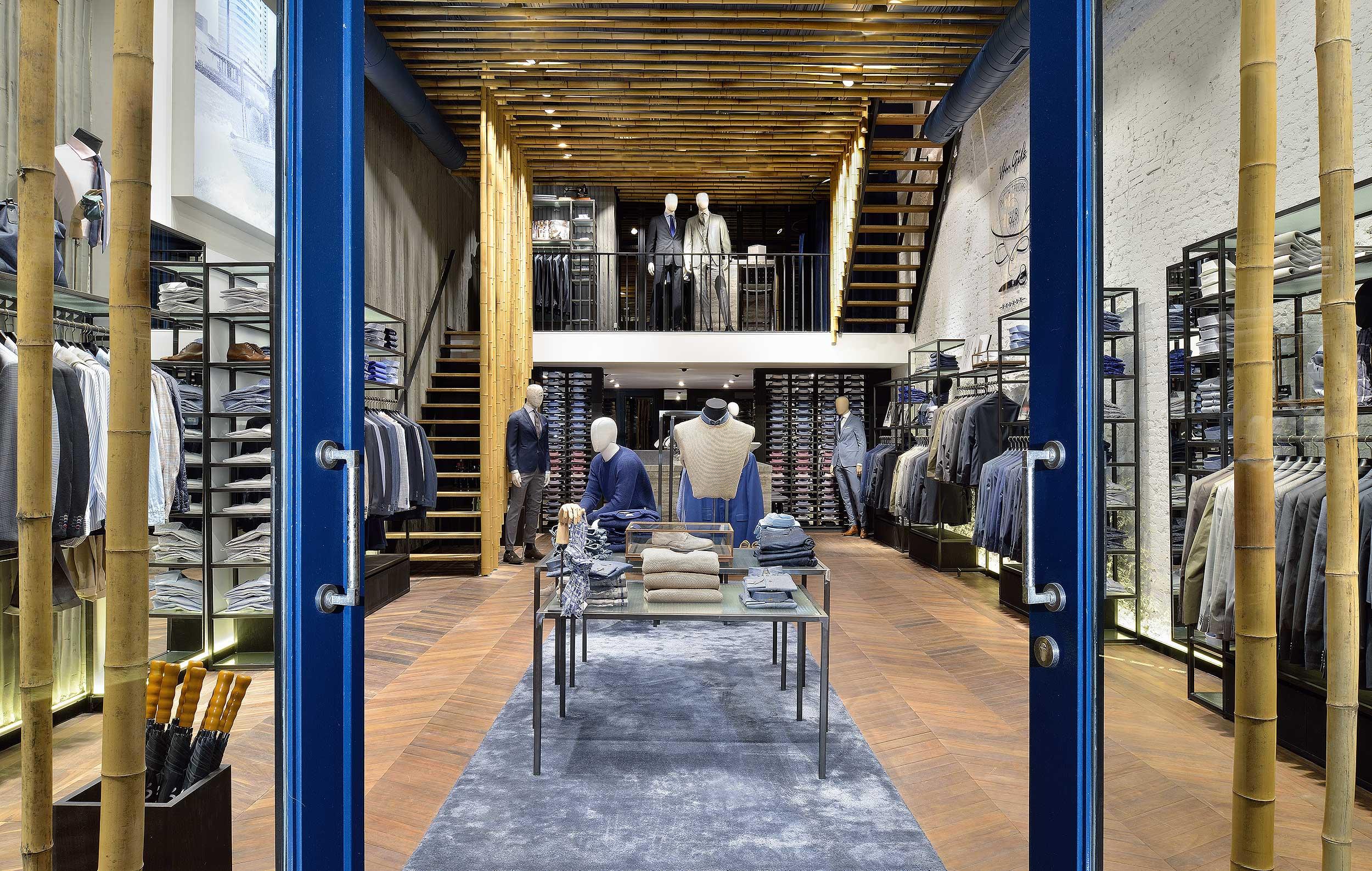 Van gils store amsterdam studio de nooyer architectuurfotograaf