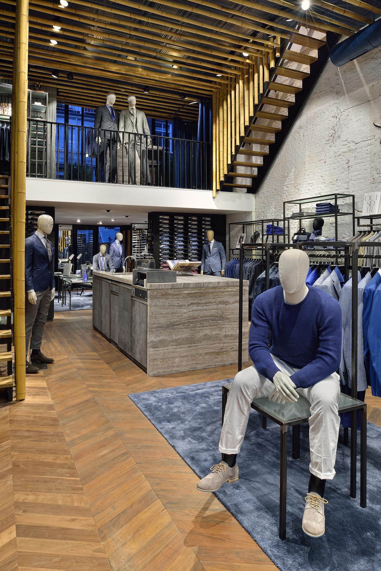 Interieur Van Gils winkel Baerlestraat - interieurfotograaf Chiel de Nooyer