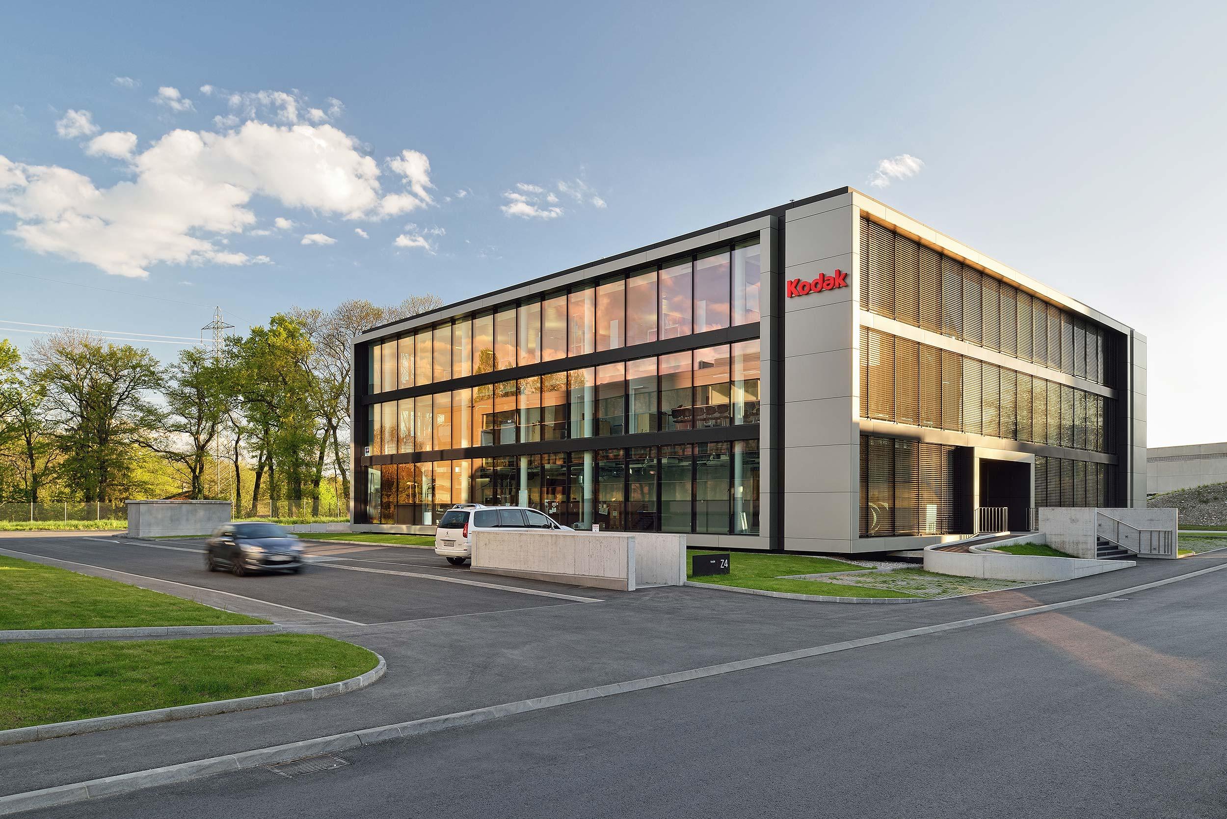 Kodak - Terre Bonne Park in Zwitserland - architectuurfotograaf Chiel de Nooyer
