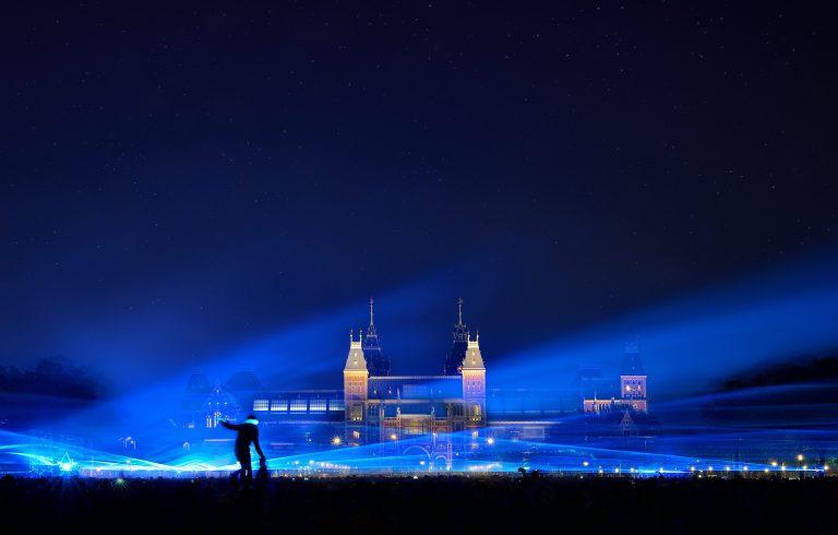 Waterlicht, Amsterdam - Daan Roosegaarde
