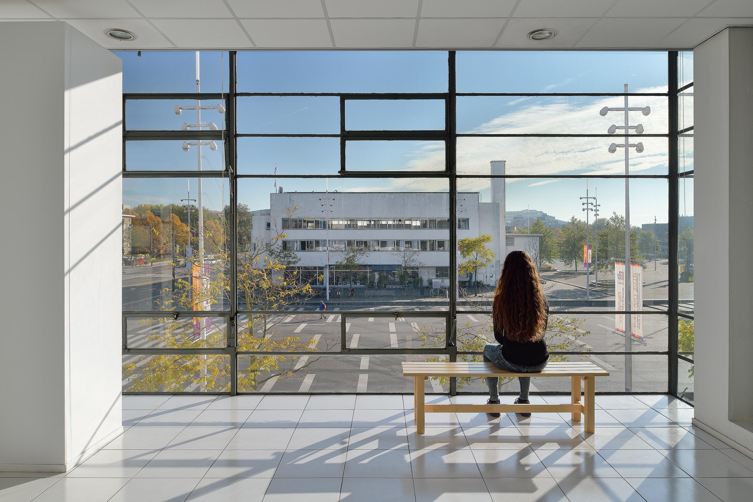 The Garage, The Olympic, Amsterdam, Stadionplein, Citroen gebouw, gebouwen, Citroengarages