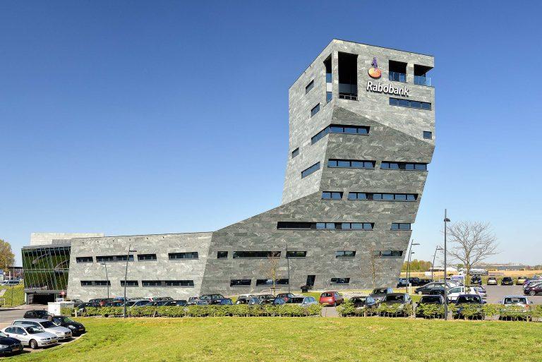 Architectuur fotografie van Rabobank kantoor Roermond