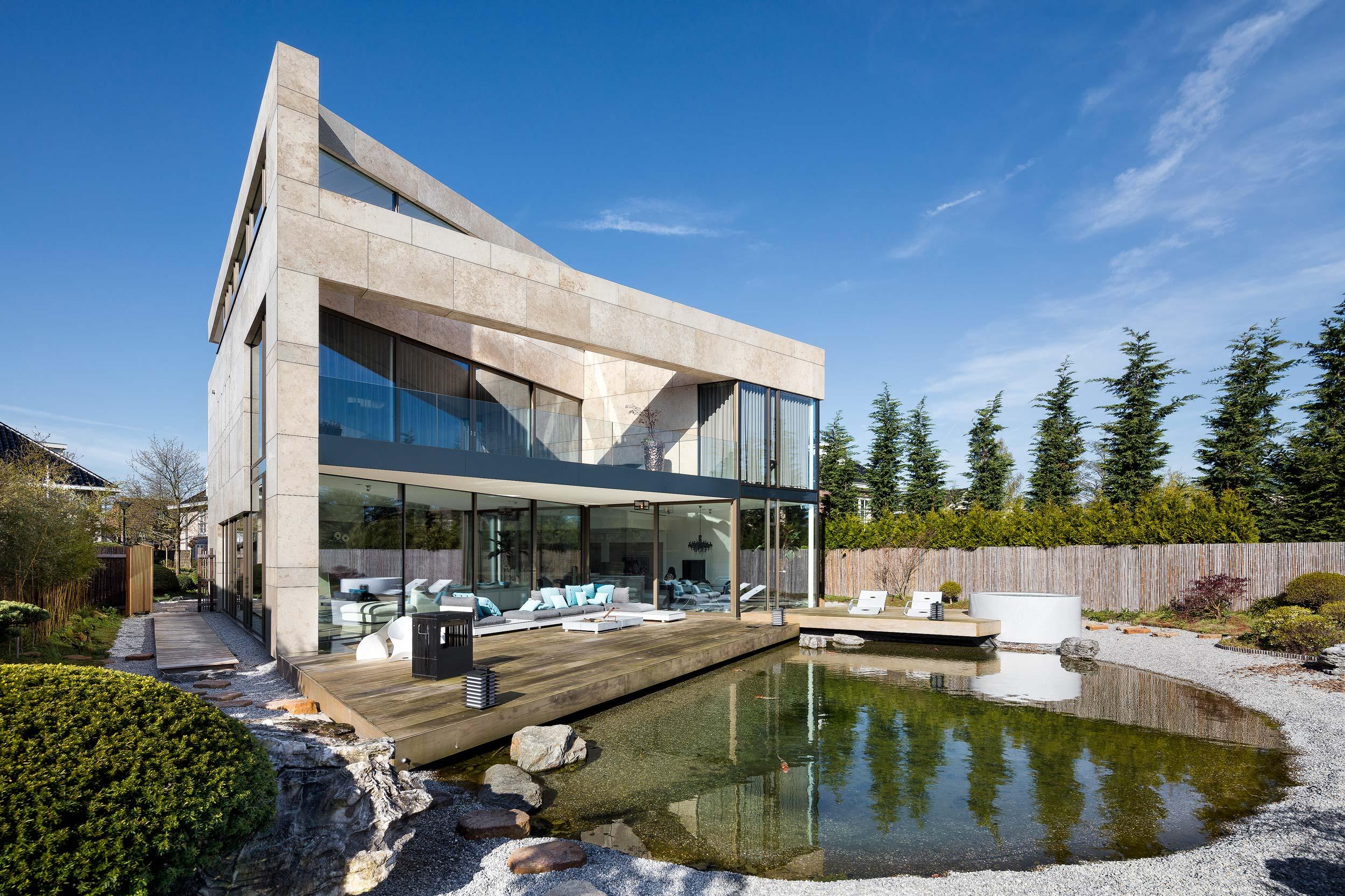 Nieuwbouw Villa, Hoofddorp - Fotografie door architectuurfotograaf Chiel de Nooyer