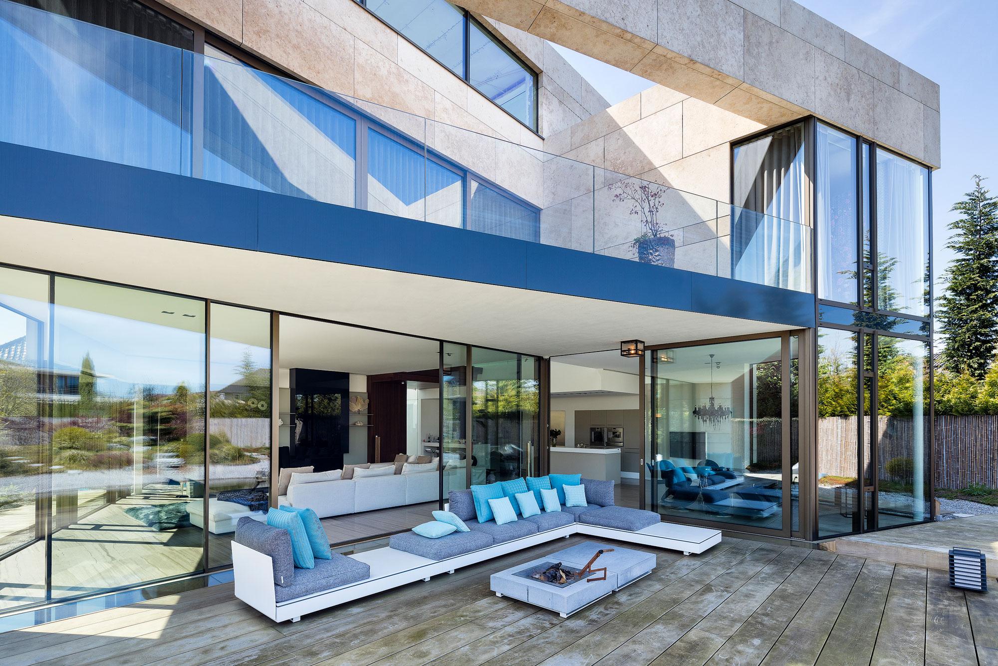 Villa in Hoofddorp. Fotografie door architectuur fotograaf Chiel de Nooyer