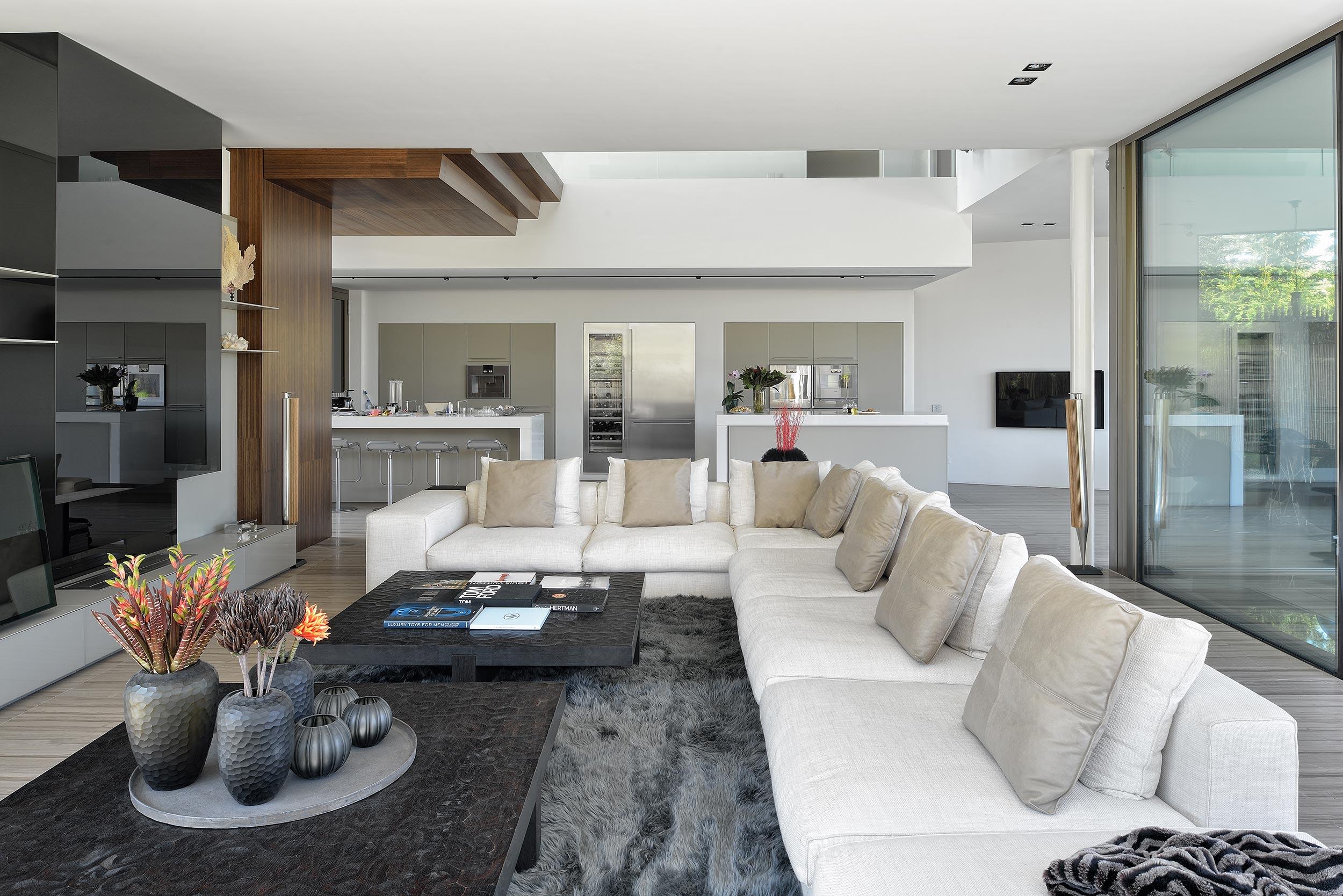 Interieur villa in Hoofddorp. Fotografie door interieurfotograaf Chiel de Nooyer