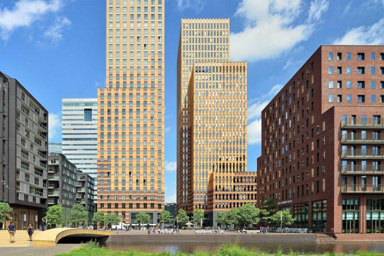 Architectuur fotografie van Symphony Offices, Amsterdam - CBRE