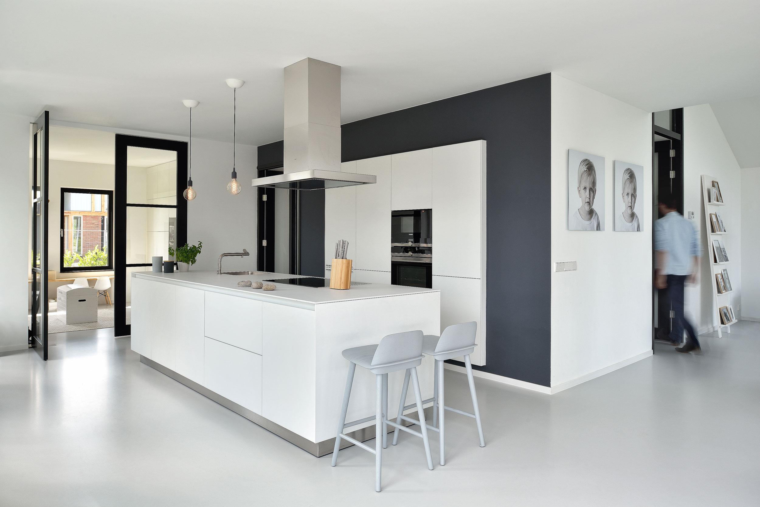 Nieuwbouw woning Nieuwkoop - interieurfotograaf Chiel de Nooyer