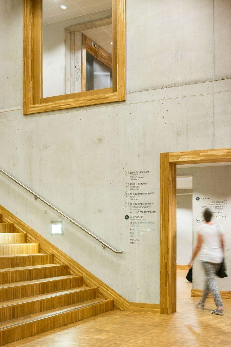 Interieurfotografie van Bibliotheek Eemland / Architectuurfotografie Eemhuis, Amersfoort - Neutelings Riedijk Architects - interieur