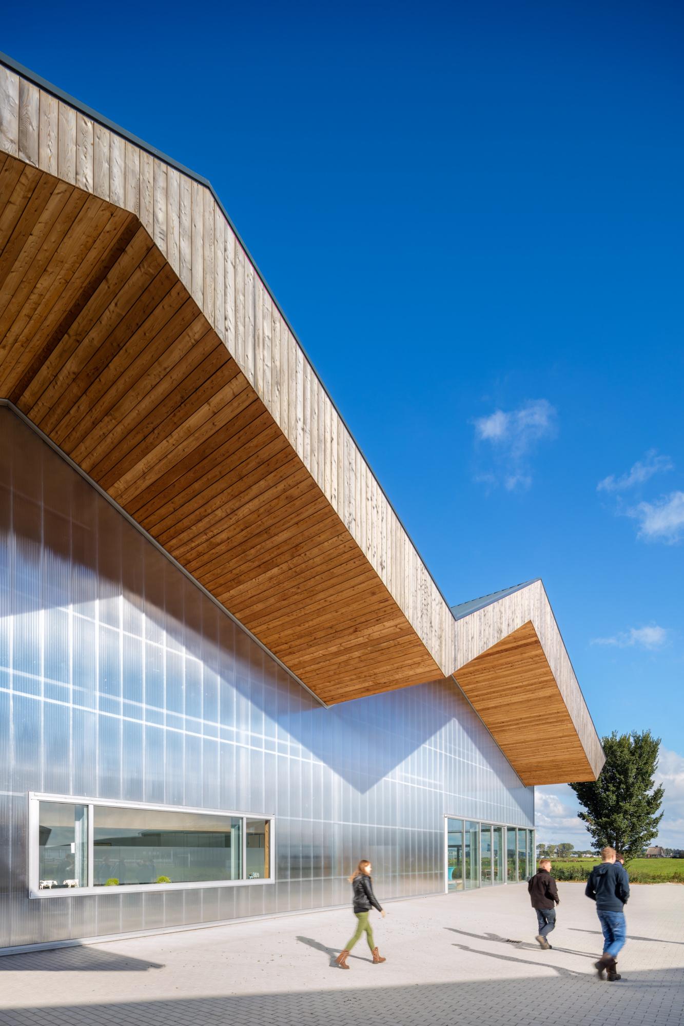 Dairy Campus, Leeuwarden - Arcadis, door Chiel de Nooyer architectuur fotograaf