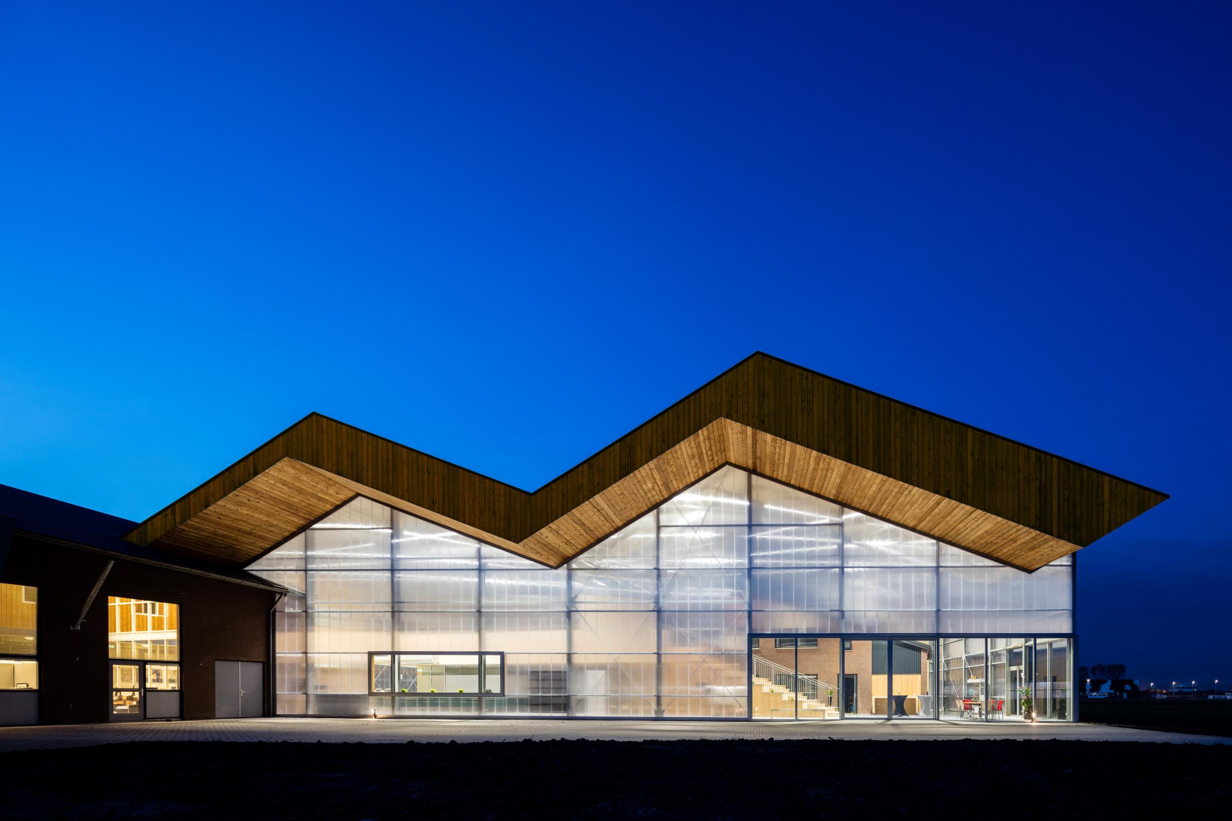 Architectuurfotograaf voor Dairy Campus, Leeuwarden