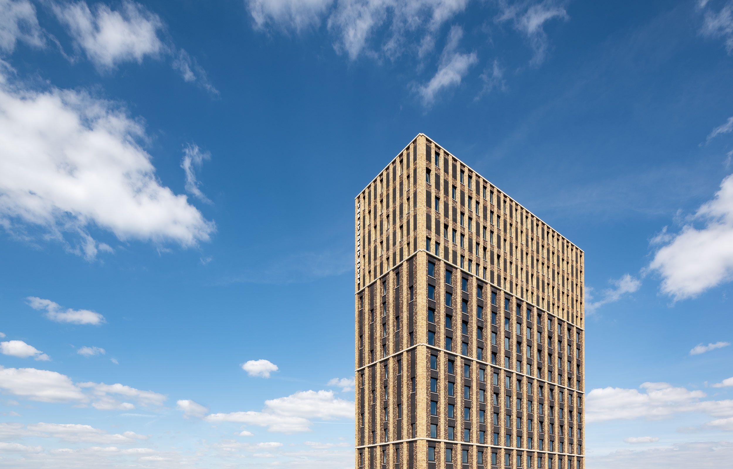 Student Hotel in Eindhoven, architectuurfotografie door Chiel de Nooyer