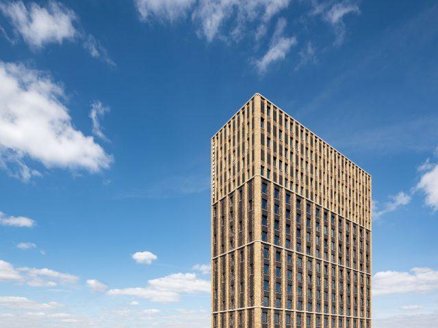 Student Hotel Eindhoven, architectuurfotografie Chiel de Nooyer