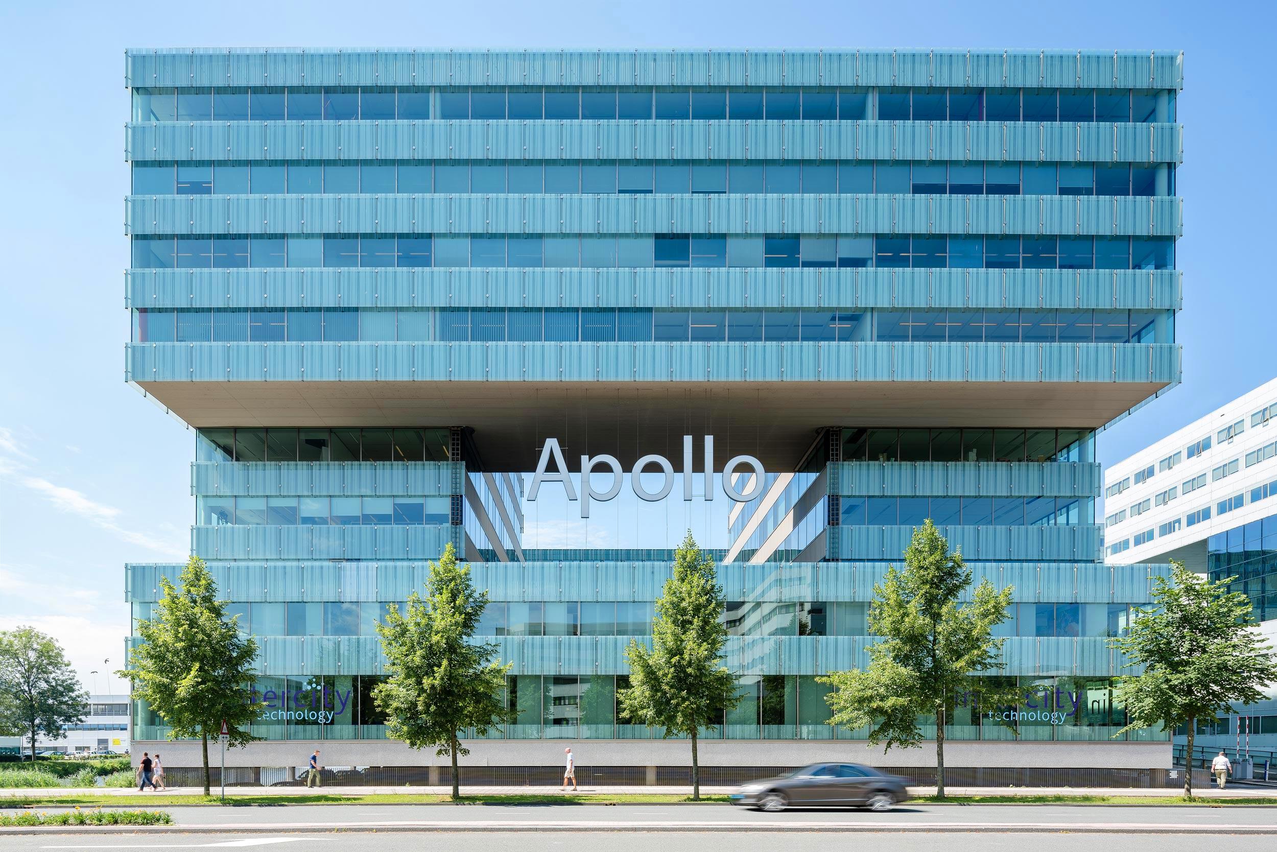 Kantoor gebouw Apollo Amsterdam - architectuurfotograaf Chiel de Nooyer
