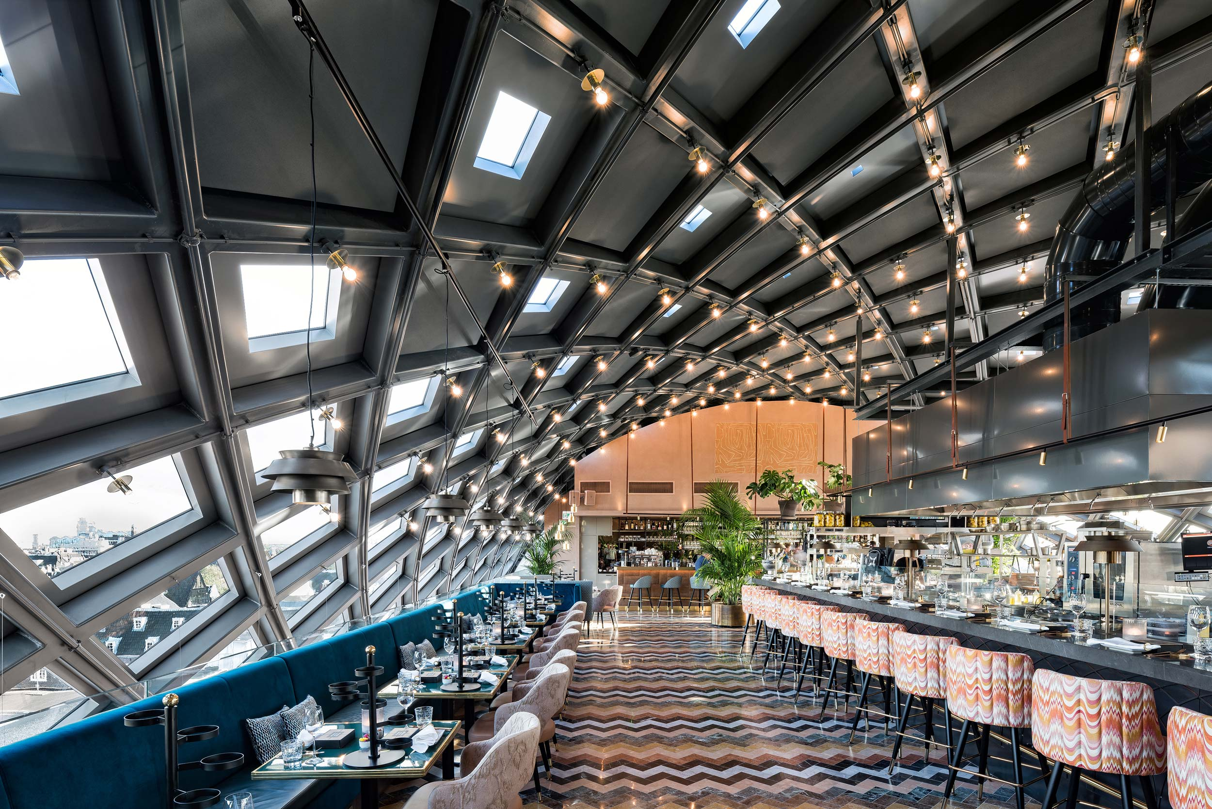 Interieurfotograaf Amsterdam - Chiel de Nooyer, Nacarat restaurant