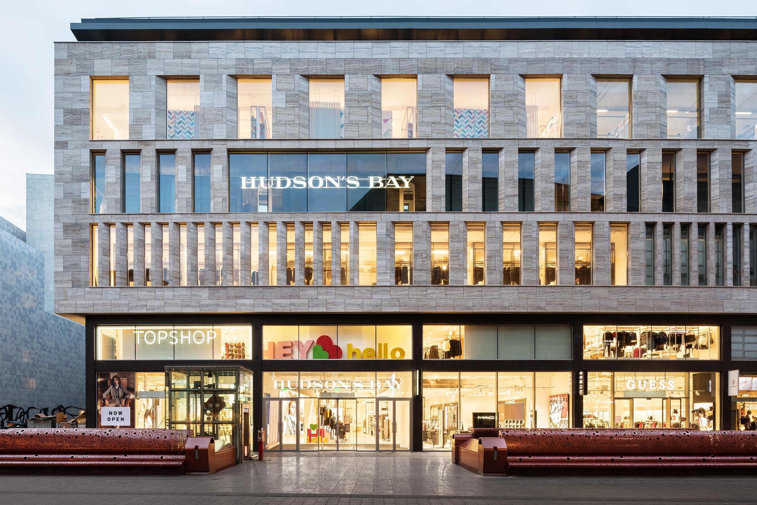 Hudson's Bay - Den Haag - architectuurfotograaf Chiel de Nooyer