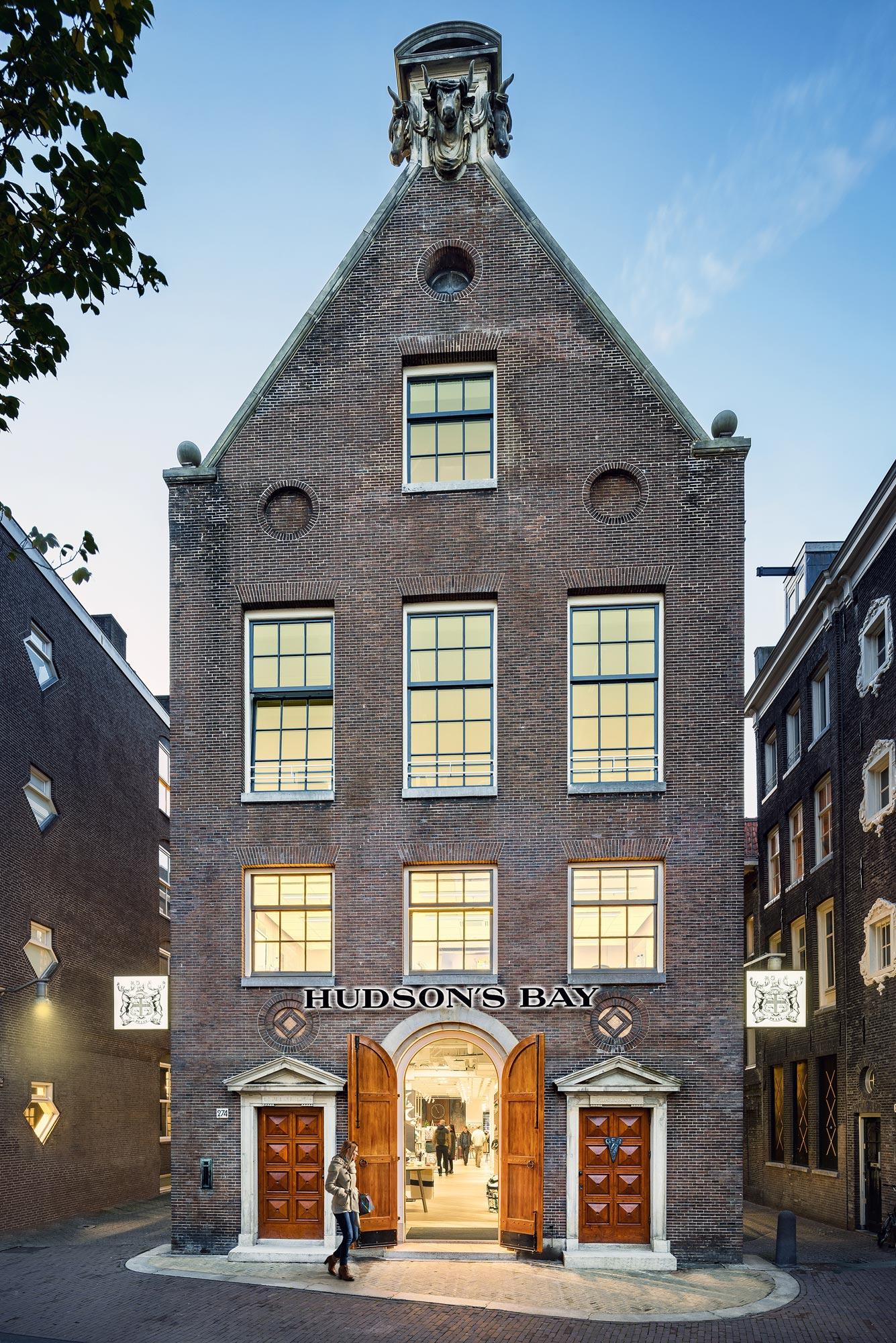 Hudson's Bay - Amsterdam - architectuurfotograaf Chiel de Nooyer