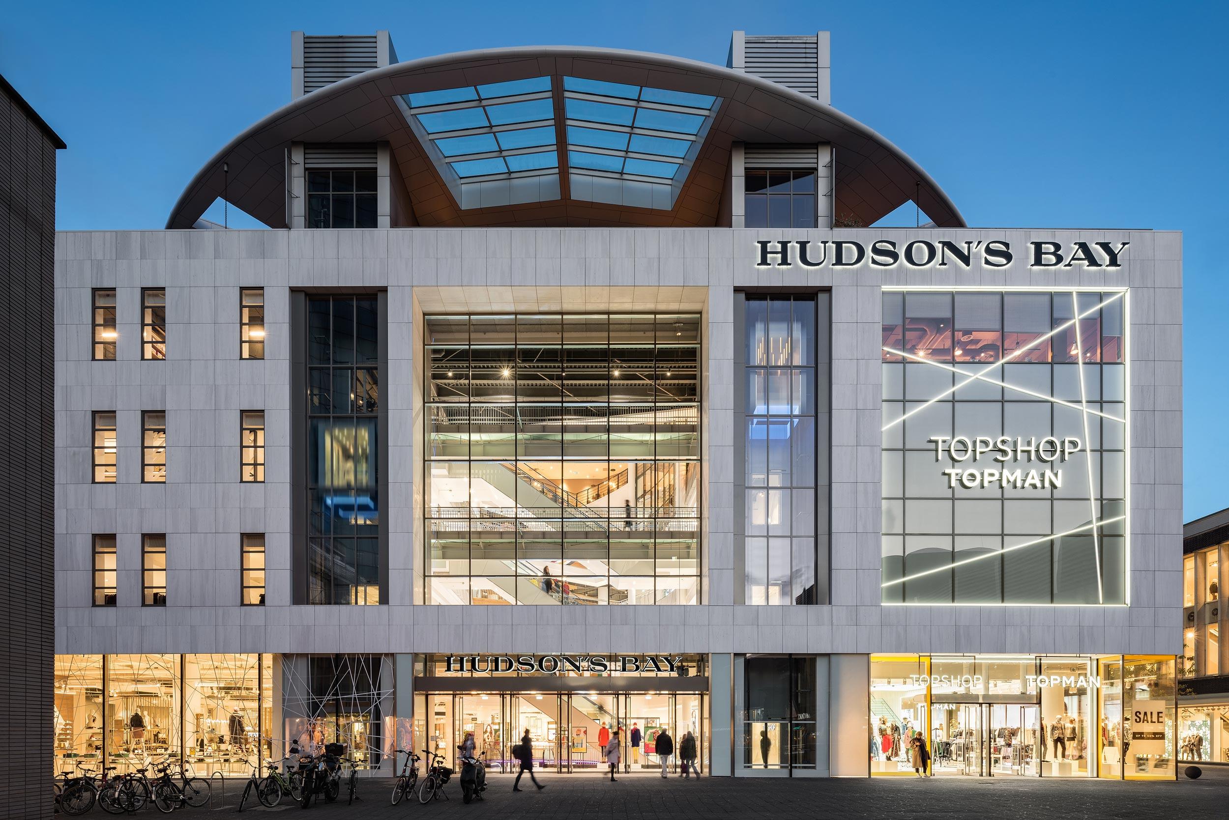 Hudson's Bay, Rotterdam - Architectuurfotograaf Chiel de Nooyer, fotograaf voor winkel en warenhuis