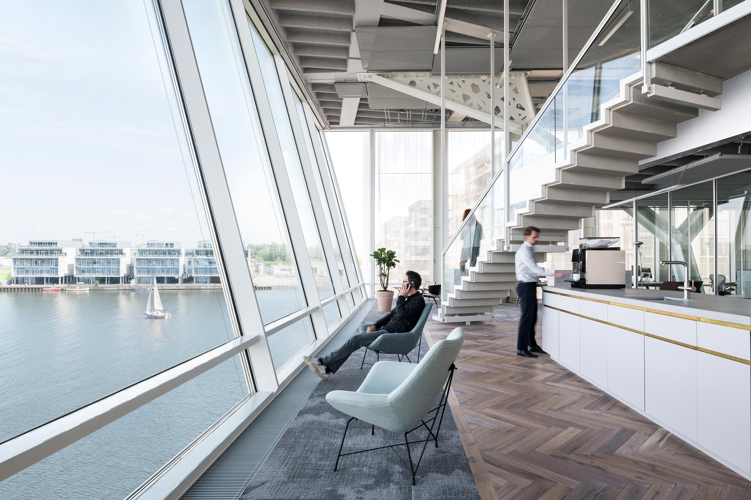 Amvest kantoor interieur Amsterdam - Chiel de Nooyer, interieurfotograaf