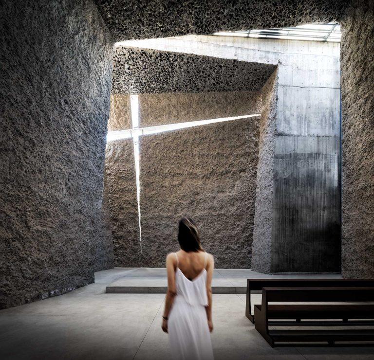 Interieur kerk op Tenerife, Spanje - Architectuurfotograaf Chiel de Nooyer