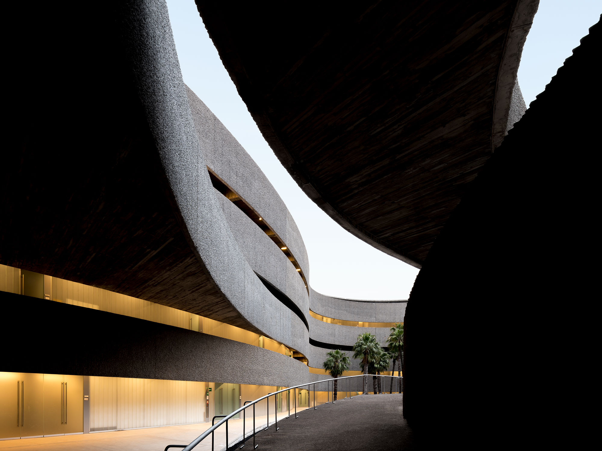 Architectuurfotograaf voor Faculty of Fine Arts - Tenerife, Spanje