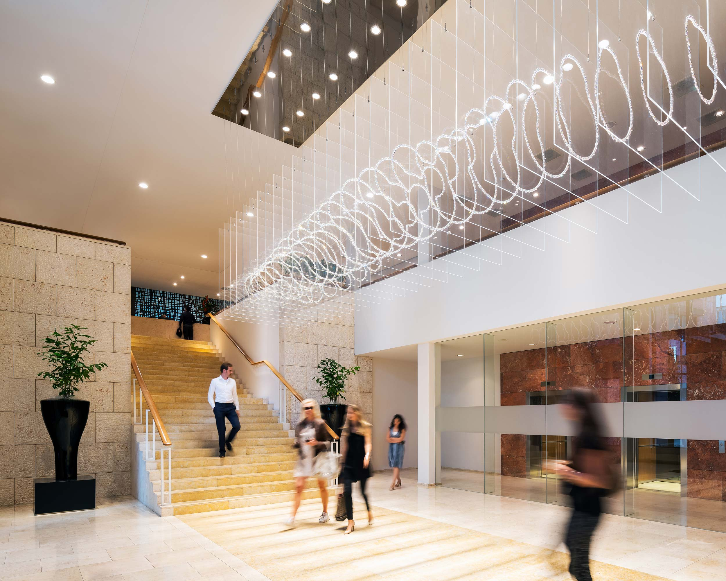 Baker McKenzie kantoor interieur, Amsterdam - Interieurfotograaf Chiel de Nooyer