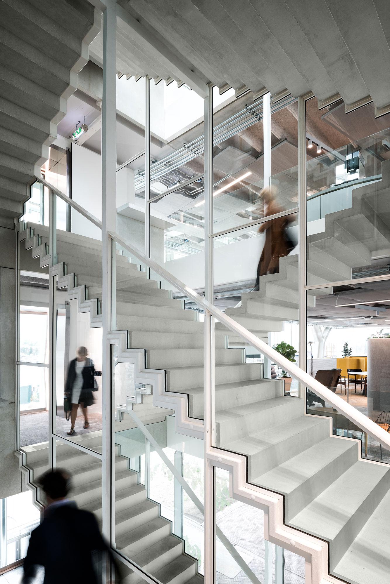 Amvest hoofdkantoor Amsterdam door Chiel de Nooyer - interieurfotograaf
