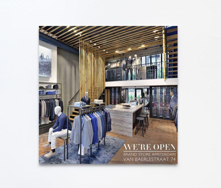 Interieurfotografie voor Van Gils store in Amsterdam, door interieurfotograaf